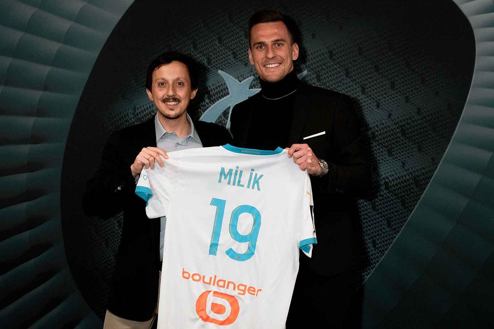 Milik chính thức rời Napoli để cập bến Marseille