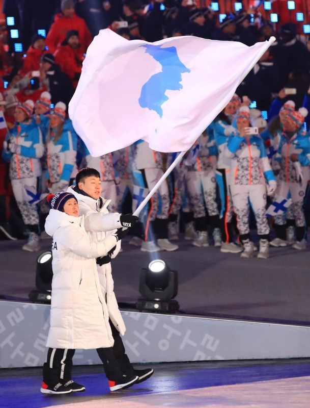 hinh anh le khai mac the van hoi mua dong pyeongchang 2018