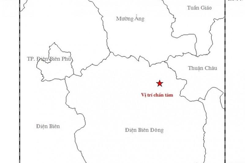 Động đất 4,1 độ richter tại Điện Biên, rung lắc nhà cửa