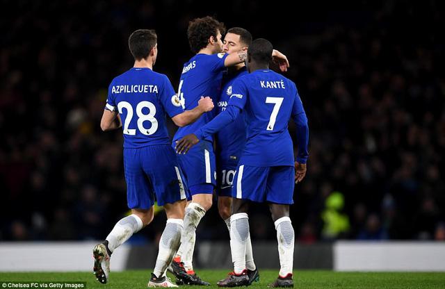 Chelsea 3-0 West Brom: Chỉ mình Hazard là đủ