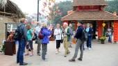 Lượng khách du lịch tăng trong những ngày Tết Nguyên đán