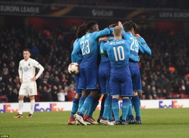 Arsenal 1-2 Ostersunds: 'Hút chết' tại Emirates