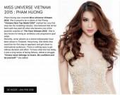 Hoa hậu Phạm Hương xuất hiện lộng lẫy trên tạp chí Ý