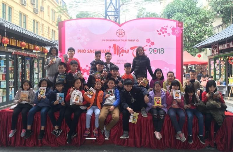 Độc đáo Lễ hội - Phố sách Xuân Mậu Tuất 2018