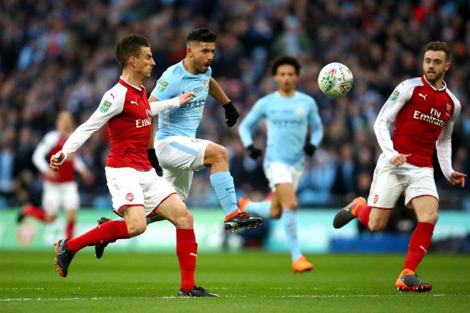 Man City - Arsenal: Trở lại đường đua