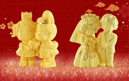 Ngày vía Thần Tài trùng Valentine: Tặng vàng hay chocolate cho 'nửa kia'?