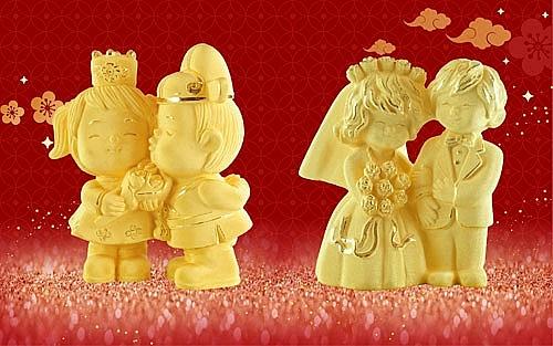 Ngày vía Thần Tài trùng Valentine: Tặng vàng hay chocolate cho