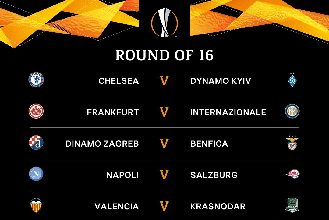 Vòng 1/8 Europa League: Không có đại chiến