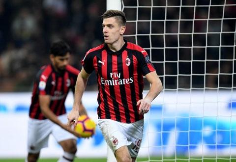 AC Milan 3-0 Empoli: Piatek lại lập công, Milan áp sát Inter trên BXH