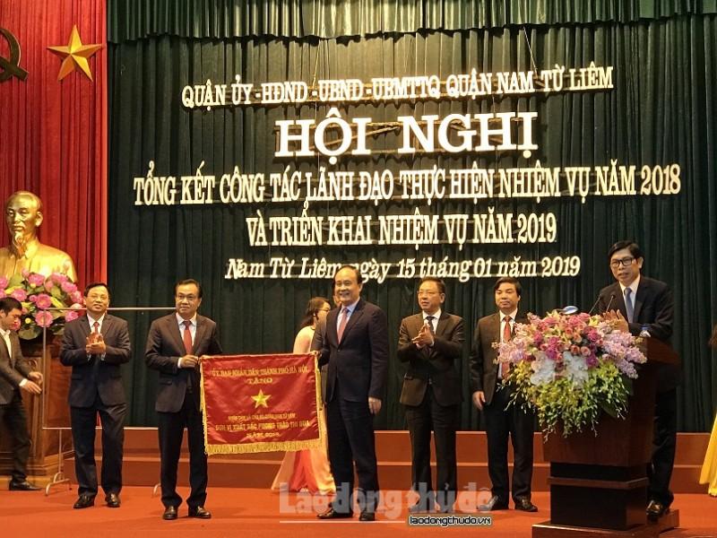 Quận Nam Từ Liêm: Hoàn thành thắng lợi chỉ tiêu kinh tế - xã hội