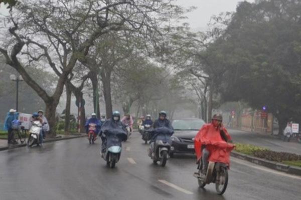Dự báo thời tiết 6/2, mưa phùn, rét đậm bao trùm miền Bắc