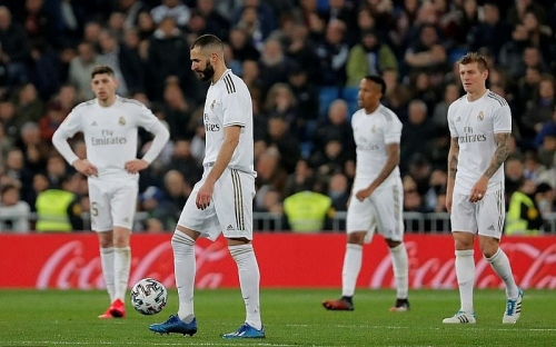 Real Madrid 3-4 Real Sociedad: Địa chấn ở Bernabeu