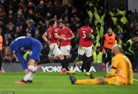 Chelsea 0-2 Man Utd: