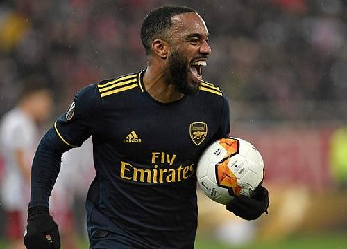 Olympiacos 0-1 Arsenal: Lacazette lên tiếng, Arsenal ca khúc khải hoàn trên đất khách