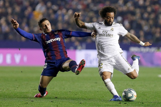 Levante 1- 0 Real Madrid: Thua sốc,