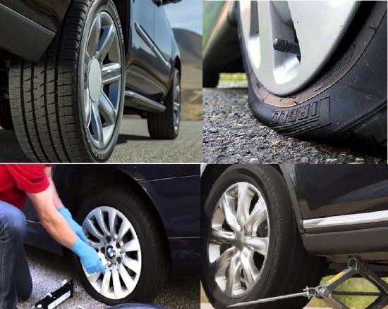 Cách thay lốp ôtô dự phòng nhanh, dễ làm không phải ai cũng biết