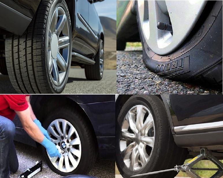 Do vận hành liên tục nên lốp ô tô là bộ phận dễ hỏng nhất. Đồ họa: Đức Huy