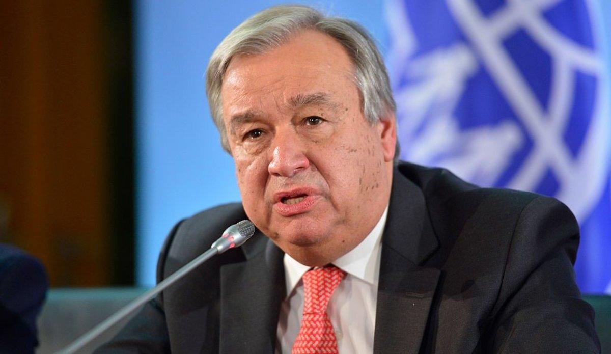 Tổng Thư ký Liên Hợp Quốc António Guterres. Ảnh: UN
