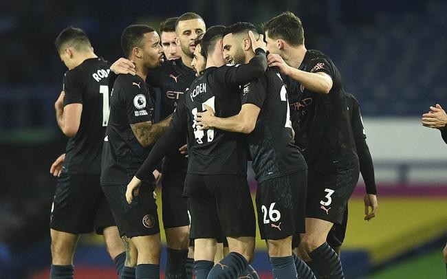 Everton 1-3 Man City: Xây chắc ngôi đầu