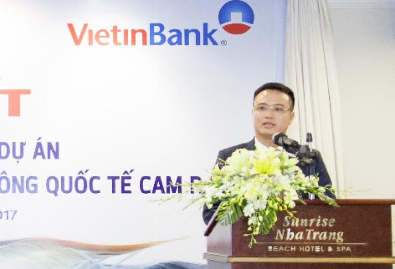 VietinBank đồng tài trợ dự án hàng không tại Khánh Hòa