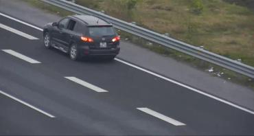 Từ chối các xe ôtô cố tình chạy ngược chiều trên đường cao tốc