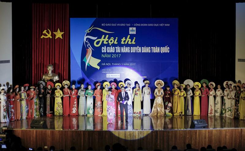 """Hà Nội đoạt giải đặc biệt """"Cô giáo tài năng duyên dáng toàn quốc 2017"""""""