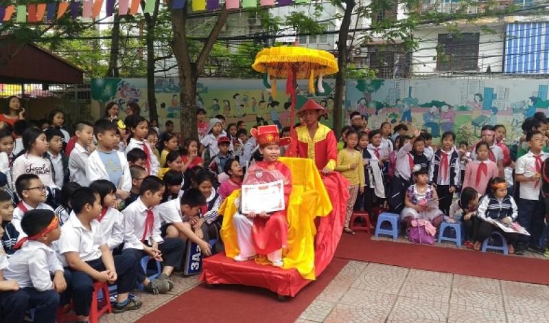 Sân chơi bổ ích cho các em học sinh