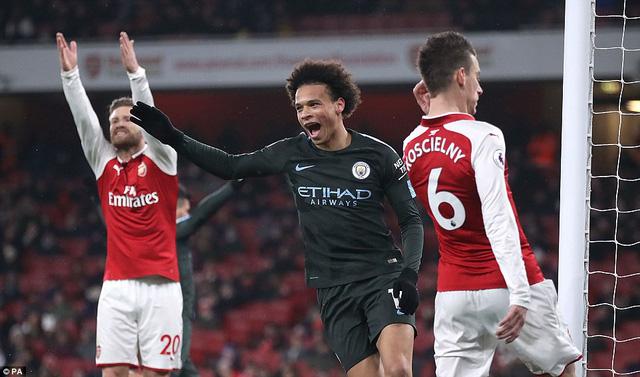 Arsenal 0-3 Man City: Không còn gì để nói