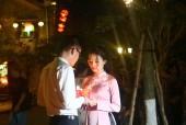 Hội An: Người dân và du khách hào hứng thả hoa đăng trong đêm Nguyên tiêu