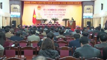 HĐND huyện Ba Vì: Xứng đáng với niềm tin của cử tri