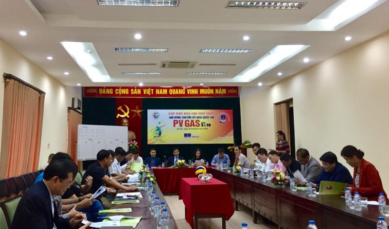 boc tham chia bang giai bong chuyen vdqg nam 2018
