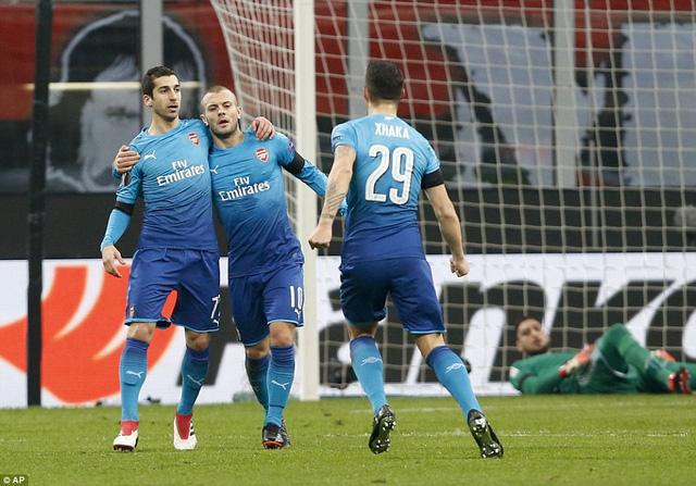 AC Milan 0-2 Arsenal: Hồi sinh ở San Siro