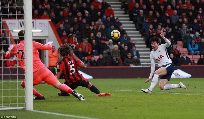 Đại thắng, Tottenham vươn lên tốp 3 Premier League