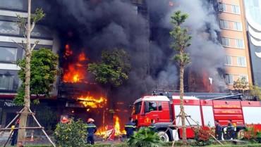 Số vụ cháy, nổ đã được kiềm chế
