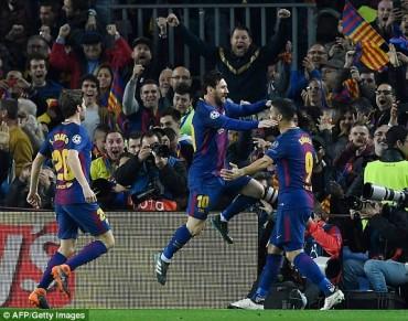 Barcelona 3- 0 Chelsea: Không thể cản Messi