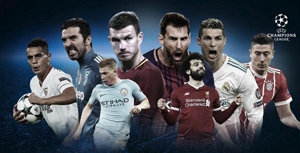 Xác định 8 đội bóng góp mặt ở vòng tứ kết Champions League 2017/2018