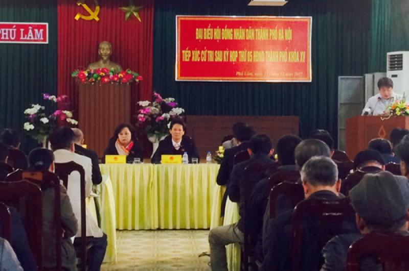 Chủ tịch HĐND Thành phố Nguyễn Thị Bích Ngọc tiếp công dân
