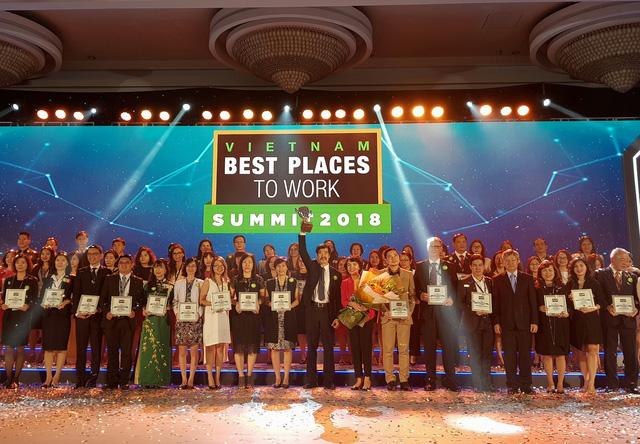 Vinamilk vươn lên dẫn đầu top 100 nơi làm việc tốt nhất Việt Nam 2017