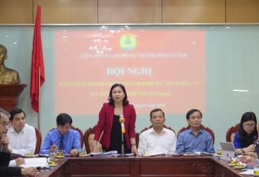 Toàn văn dự thảo Báo cáo chính trị của LĐLĐ TP Hà Nội trình Đại hội công đoàn Thành phố lần thứ XVI