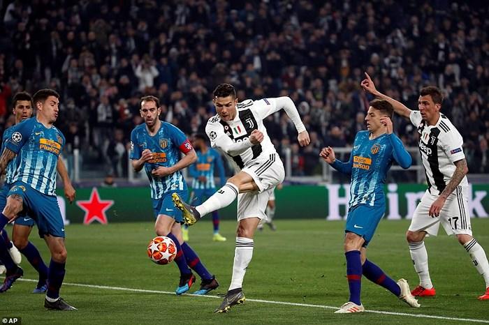Juventus 3-0 Atletico Madrid: Điểm 10 hoàn hảo cho C.Ronaldo