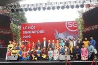 Khoảnh khắc văn hóa Singapore giữa lòng Hà Nội