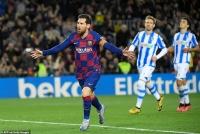 Barcelona 1-0 Sociedad: Chiến thắng nhọc nhằn