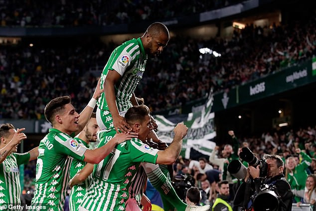Real Betis 2-1 Real Madrid: