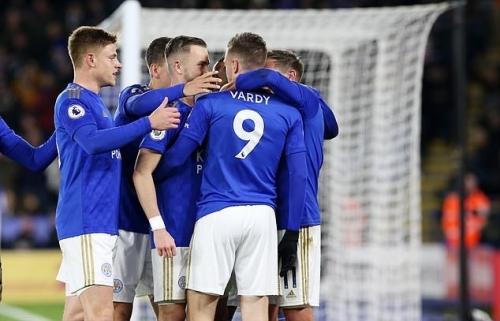 Leicester 4-0 Aston Villa: Đại thắng,