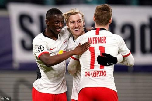 Leipzig 3-0 Tottenham: