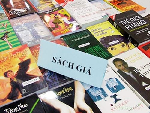 Phát hiện 33 fanpage chuyên bán sách giả