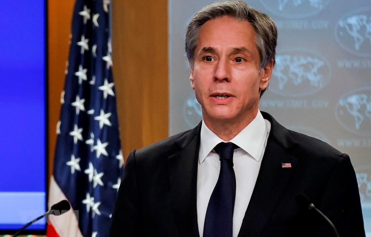 Ngoại trưởng Mỹ Antony Blinken. (Ảnh: AFP)