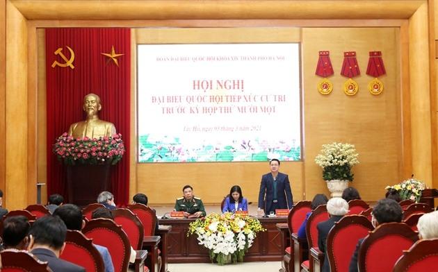 Cử tri Hà Nội: Thành công của Đại hội XIII đã làm nức lòng đồng bào cả nước