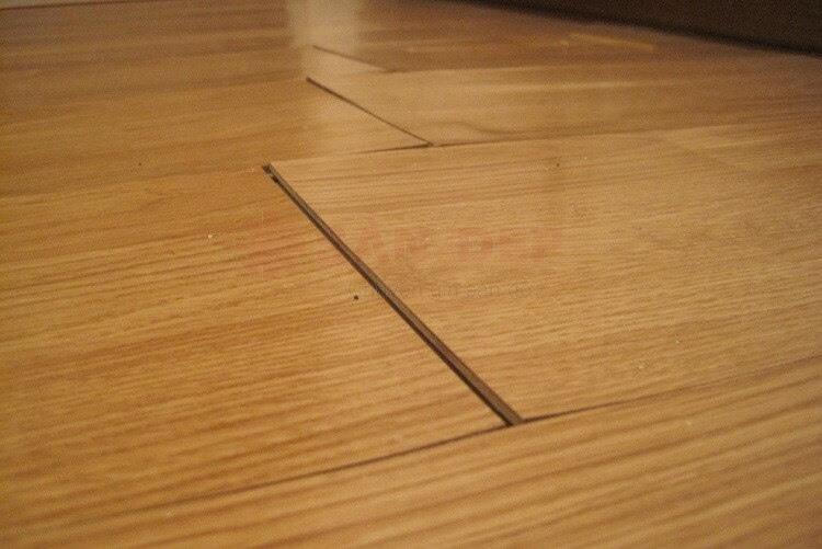 Mẹo nhỏ giúp sàn gỗ hết phồng rộp