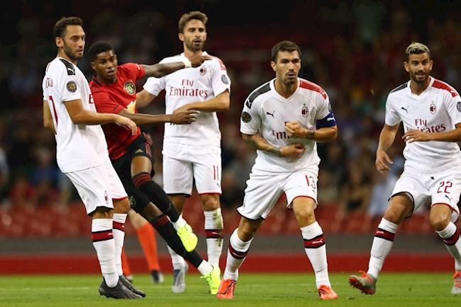 M.U - Milan: Cùng một vấn đề